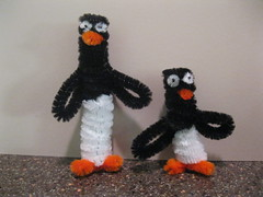 Pipe cleaner Penguin Pals
