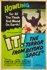 IT! THE TERROR FROM BEYOND SPACE (1958) one sheet b (hollywoodgorillamen.com) Tags: fiction poster still ray space alien science lobby card horror corrigan