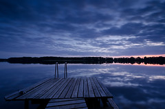 Today was nothing hooked (Dietrich Bojko Photographie) Tags: lake reflection nature mirror see evening filter lee zen late brandenburg stimmung mirroring ruhe ruppinersee dietrichbojko d7000 karwe dietrichbojkophotographie
