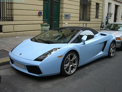 baby blue Lamborghini Gallardo spyder (alexsmolik) Tags: auto blue baby paris cars car spyder vehicle lamborghini supercar automobiles gallardo supercars babyblue lambo ragingbull italiancars lamborghinigallardo gallardospyder bluelamborghini bluegallardo alexsmolik