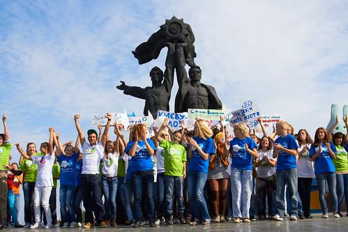 акція Рухай Планету в Києві