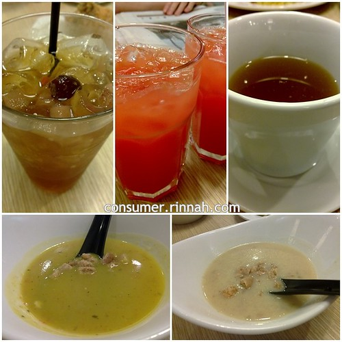 Drinks & soups at Henry Cook