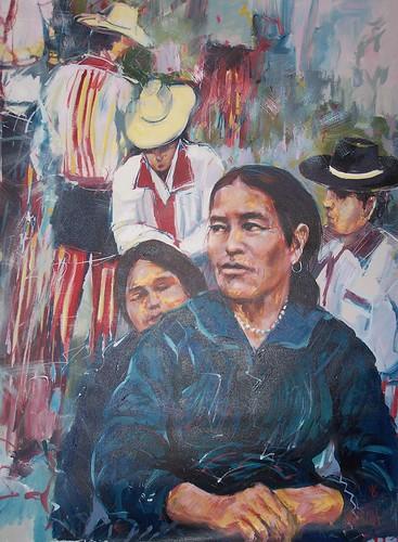 El Mercado - Painting - Impressionism