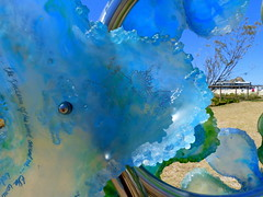 bluer blue (Grenzeloos1) Tags: sculpture passages swell 2011 currumbinbeach