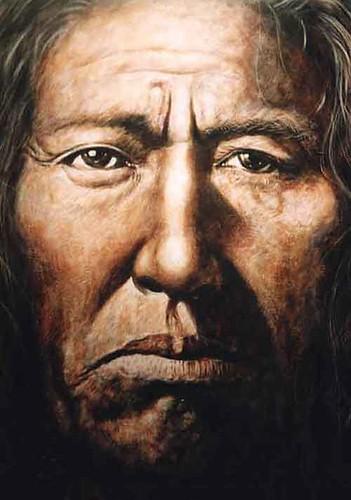 Zuni  - Painting - Realism