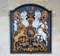 GWUK2011-146, Royal coat of arms, St Peter and St Paul, Lavenham, Suffolk (martin97uk) Tags: uk england church st paul suffolk arms coat royal peter guessed lavenham guesswhereuk ukguessed gwuk guessedbysimonk