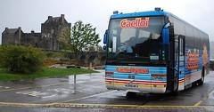 Caelloi coach at Eilean Donan