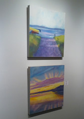 Two Paintings in the Gallery by randubnick