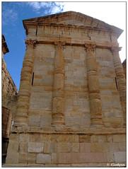 Sbeïtla (clodyus) Tags: archaeology roman tunisia archaeological remains romain byzantine tunisie romana romanruins archéologie vestiges archeologia rimane bizantina kasserine byzantin rovineromane sbeïtla byzantineruins rovinebizantine byzantins sufuela romainsvestiges