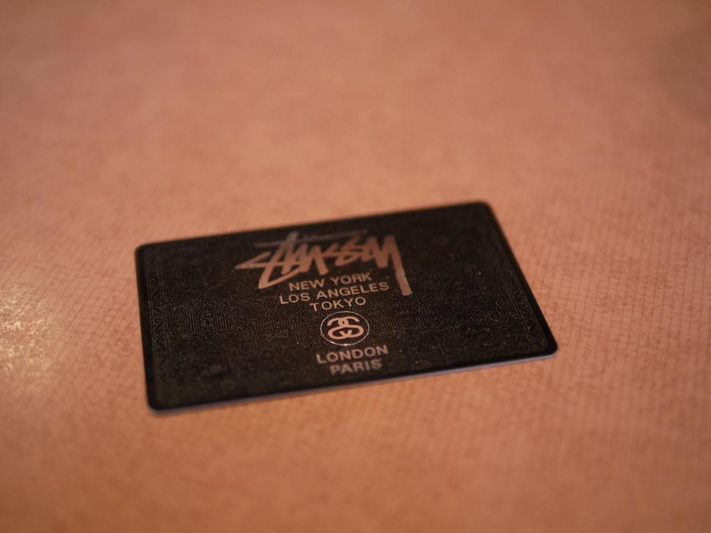 Stussy Black Card
