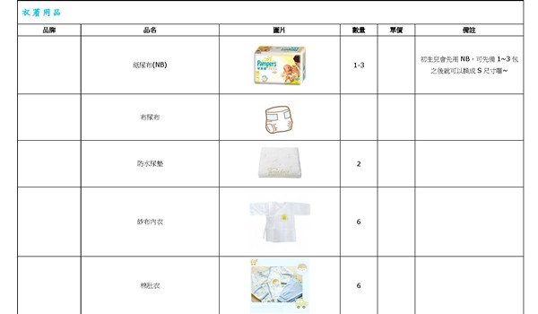 寶寶採購清單(建議表)-05