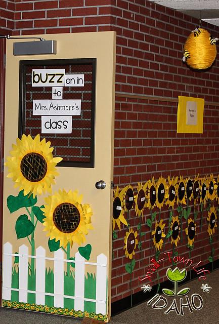 Sunflower Bee Themed Classroom