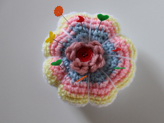 Crocheted Pincushion
