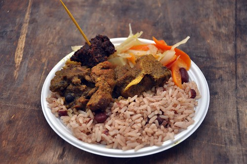 Sunrise Grill Curried Goat