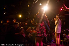 Nikki Lane and Carey Kotsionis @ Tractor Tavern, Seattle 9-23-11 (Kirk Stauffer) Tags: show seattle music food beer bar menu restaurant concert wine guitar country gig livemusic drinking eat drinks alcohol rockabilly americana ballard kexp singersongwriter altcountry honkytonk tractortavern 2011 careykotsionis shaketheshackrockabillyball shaketheshack d700 92311 nikkilane kirkstauffer nicolelanefrady