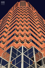 Rick Rack Fabrication (Ian Sane) Tags: street city building tower lines oregon portland point ian downtown view pov perspective rick center columbia images 2nd clay rack sw avenue 3rd koin sane fabrication of