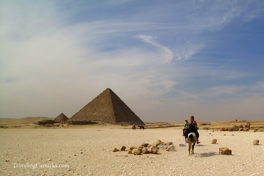 Pyramids of Giza, Egypt