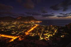 Mondello {EXPLORED - FrontPage} (Girolamo's HDR photos) Tags: city light sea summer sky italy mountains nature clouds canon landscape photography cityscape palermo hdr mondello girolamo photomatix tonemapping canoneos50d cracchiolo omalorig wwwomalorigcom