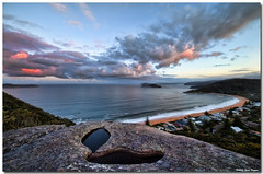 Pearl Beach (Steve Daggar) Tags: sunset seascape barrenjoey pearlbeach lionisland brokenbay