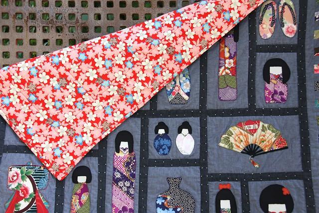kokeshi quilt