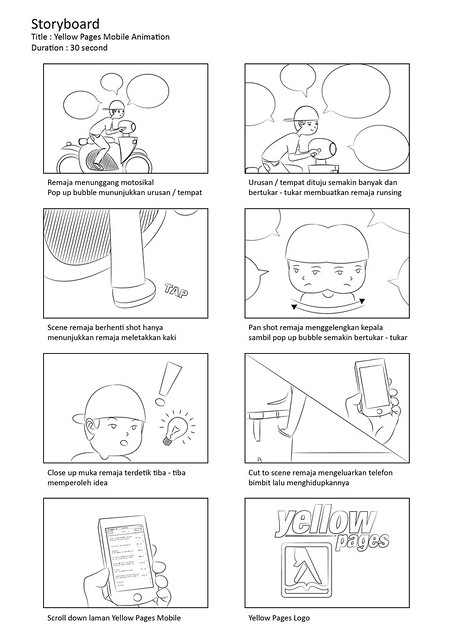 Yellow Pages Storyboard 01