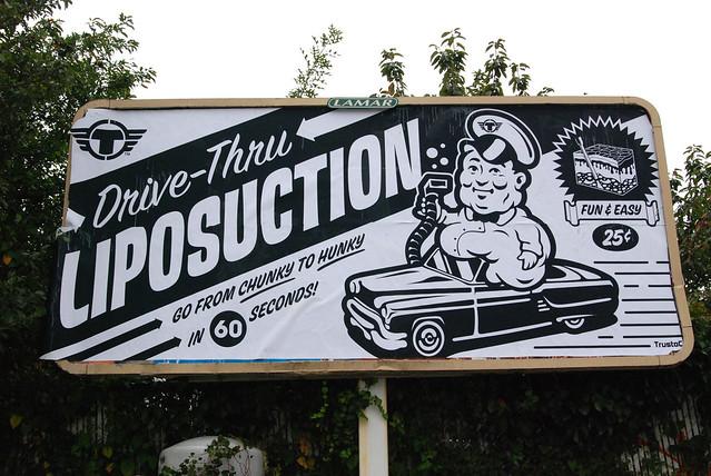 DRIVE THRU LIPOSUCTION