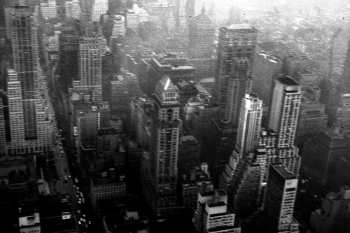 Manhattan in the 1950s (by: Greg Wagoner, creative commons license)