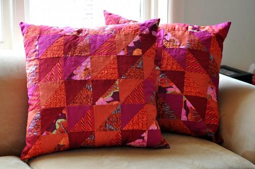 Kaela's cushions