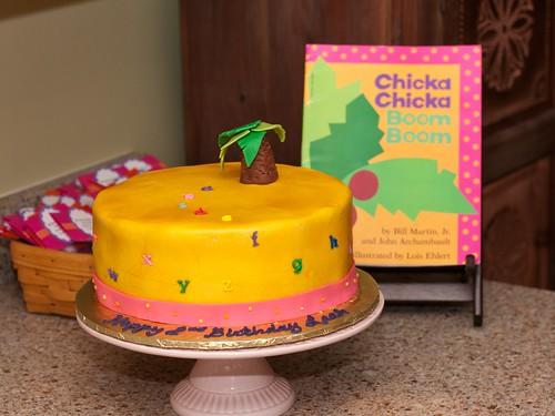 Chicka Boom cake