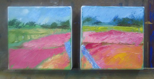 Bright Bog Diptych by Sultry
