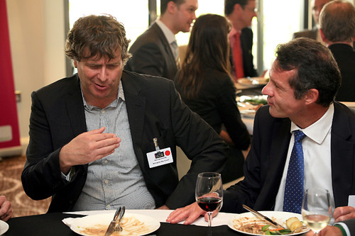 Invest in Nottingham Club - Business lunch at Notts County Cricket Ground - September 2011