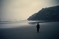 Pas de photo (sparth) Tags: ocean leica beach silhouette walking washington moody leo olympicpeninsula son cape olympic peninsula plage phare disappointment fils m9 leopold capedisappointment leicam9