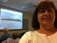 Year 5~Day 298 +269/365 AND Day 1759: LIR Classes - Covington's Lunch & Rivers-Lakes of Ireland (Old Shoe Woman) Tags: selfportrait me georgia valdosta ofme vsu 365days learninginretirement
