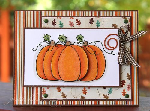 Harvest Mouse Pumpkins