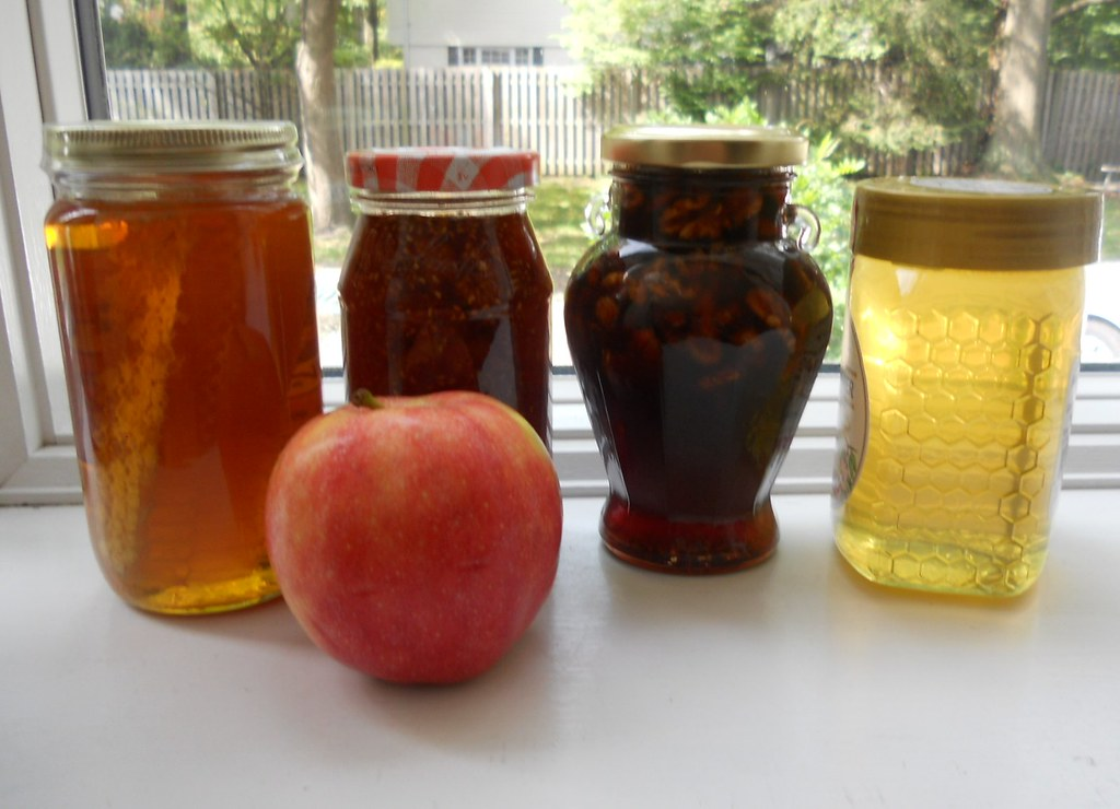 Honey of Different Colours and Apple