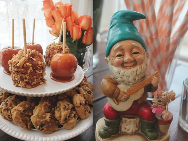 food + gnome