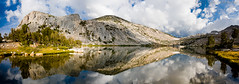 Glistening Gems (satosphere) Tags: california panorama lake reflection backpacking yosemite yosemitenationalpark sierranevada nationalparks tuolumne vogelsang sigma1020mmf456 vogelsanglake sonydslra700