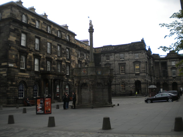 Mercat Cross en la Royal Mile