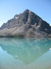 Bow Lake Reflection (Plant Design Online) Tags: lake reflection rockies canadian bow