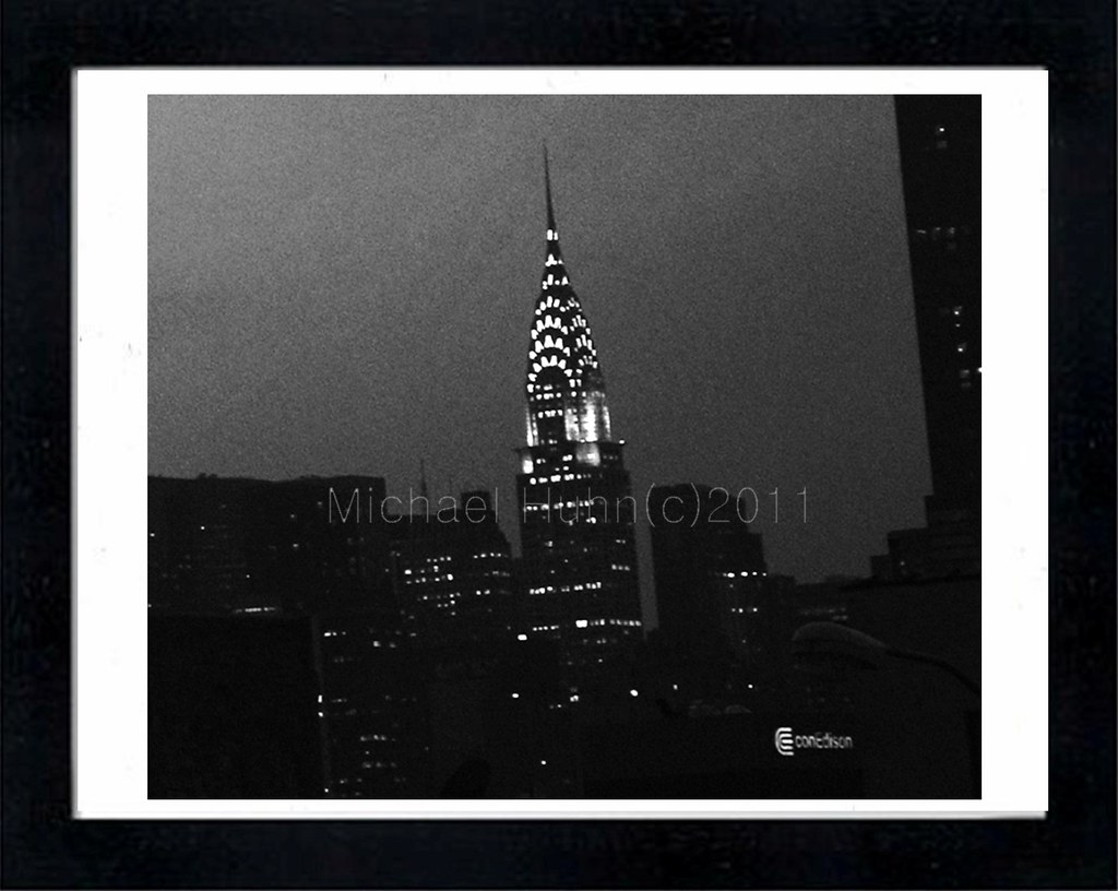 Chrysler Building Gallery Print Michael Huhn copyright
