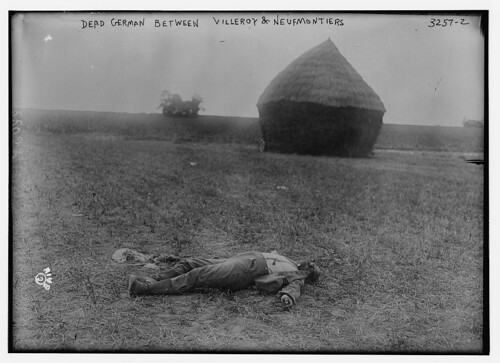 Dead German Between Villeroy & Neufmontiers (LOC) by The Library of Congress