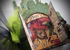 oz.18 (jack and cat curio) Tags: scrapbook kit wizardofoz chipboard paperarts magicofoz jackandcatcurio graphic45