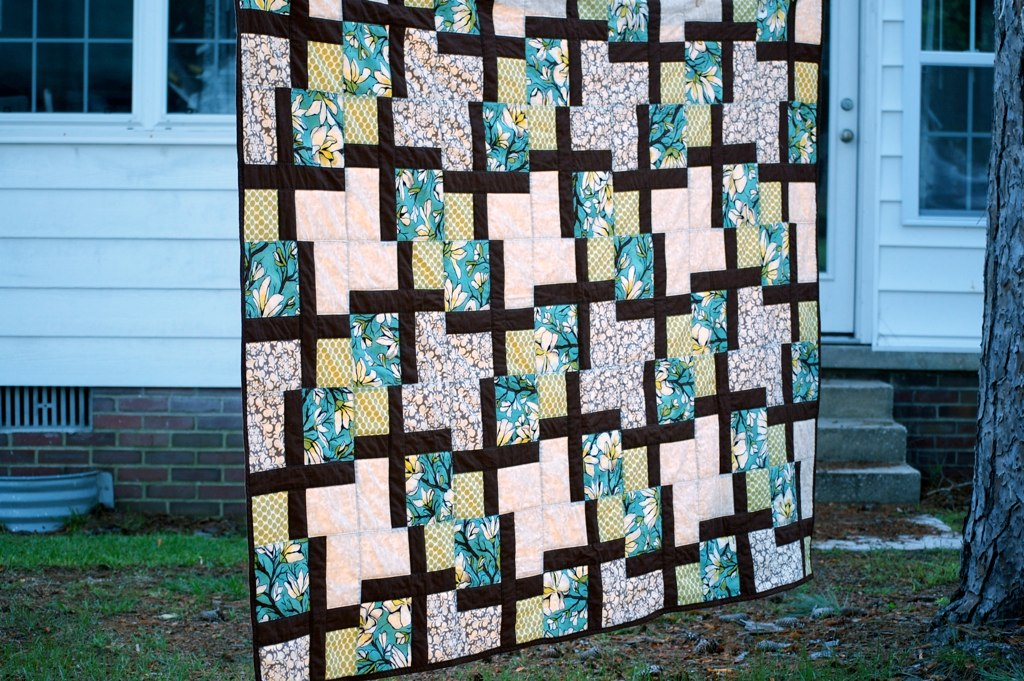the full view - Teri's quilt