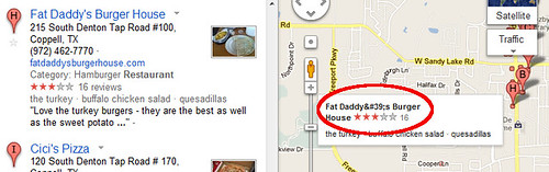 Encoding error in Google Maps mouseover