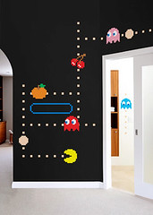 Marvelous Blik PAC MAN Ghost adhesive wall graphics