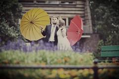2 as 2 (Shoewax.net) Tags: wedding woman man love coral umbrella canon bench groom bride kiss couple bokeh para walk ceremony happiness parasol warsaw warszawa maciej spacer slub sesja ślub pocałunek schody plener młoda ławka lawka mloda pocalunek outdoorsession slubny 5dmarkii fotografslubnywarszawa karolowy shoewaxnet suwalowski