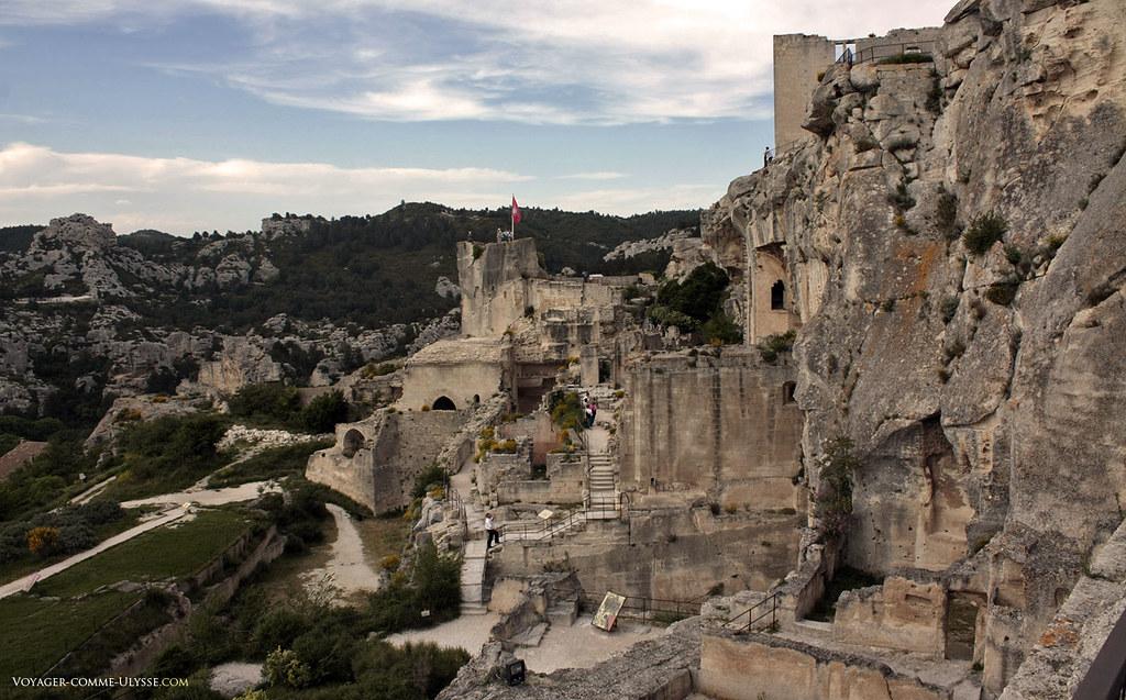 Ruines du Château des Baux de Provence