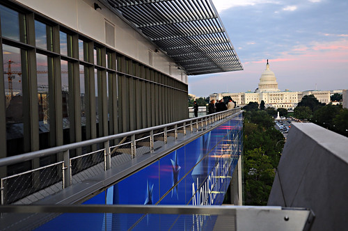 Newseum Roof Deck
