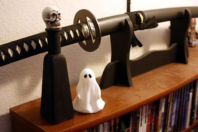 8. Halloween decor