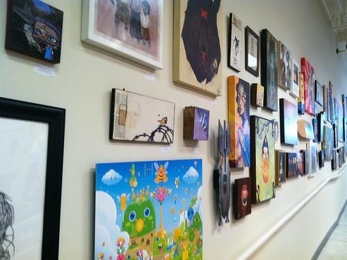 Art Whino art wall
